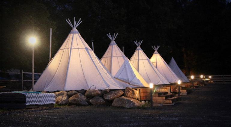 Weekend w Lapońskiej Wiosce, Namiot Lapoński (2 noce
