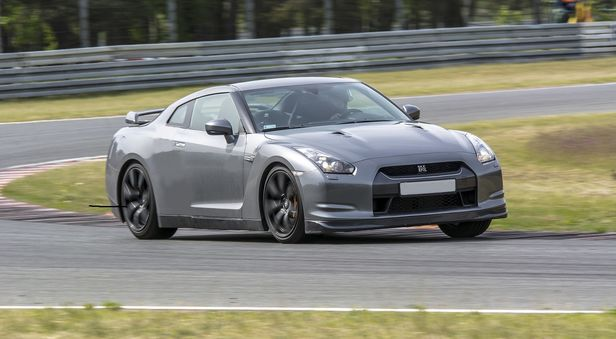 Nissan GT-R co-drive