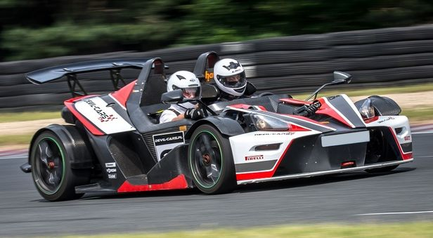 KTM X-Bow Cup co-drive