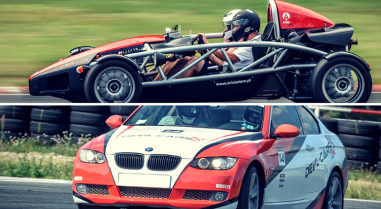 Pojedynek Ariel Atom vs BMW BiTurbo Performance