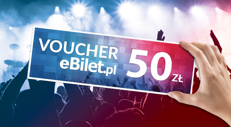 Voucher na 50 złotych do e-bilet
